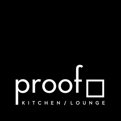 Logo for Proof Lounge